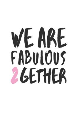 Fabulous Together -Alubild