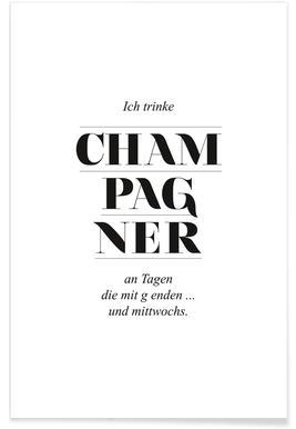 Champagner poster