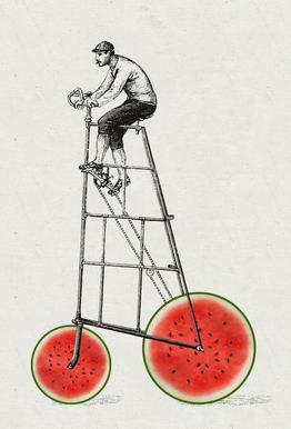Melonenradler