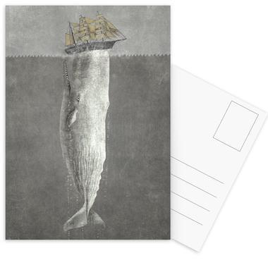 Revenge of the Whale Postcard Set
