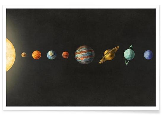 Solar system -Poster