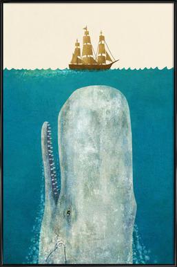 The Whale affiche encadrée