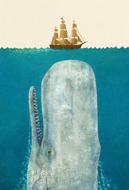 The Whale alu dibond