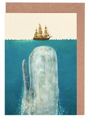 The Whale -Grußkarten-Set