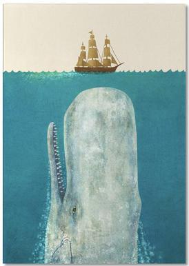 The Whale -Notizblock