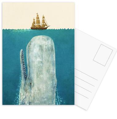 The Whale Postcard Set