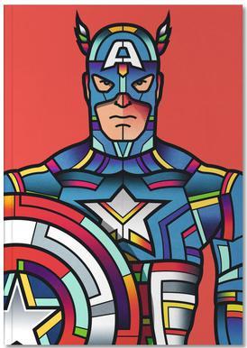 Captain America Notebook