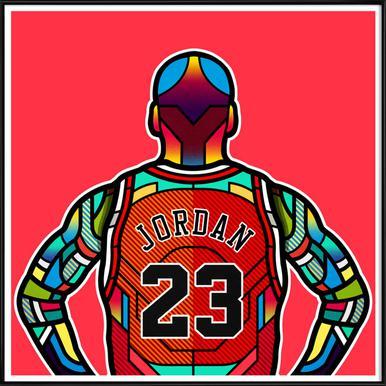 Jordan Framed Poster