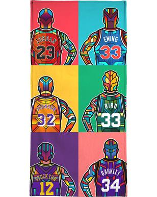 NBA Legends serviette de bain