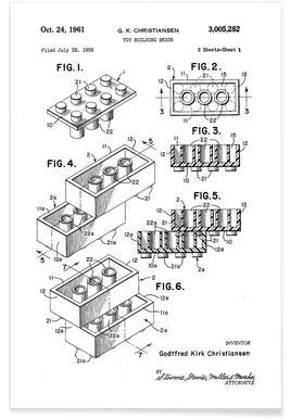 Brick System 1 Poster