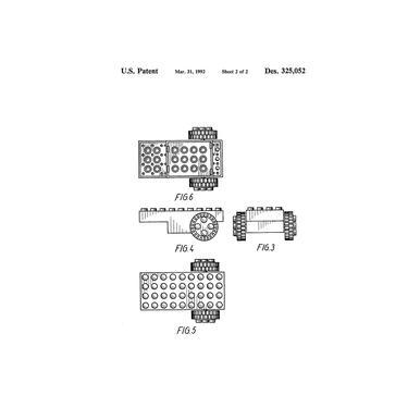 Brick Wheel 2 Aluminium Print