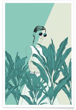 The Blue Nature - Premium Poster