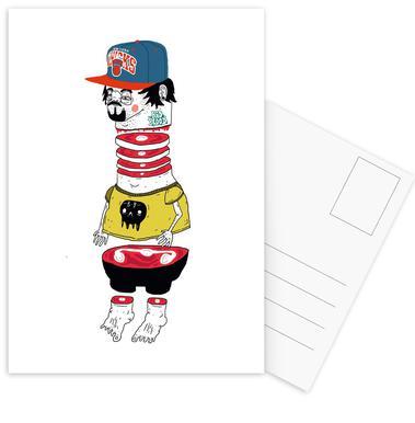 Chopsuey -Postkartenset