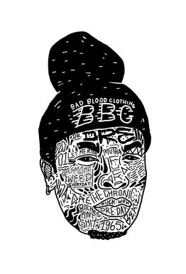 Dre -Acrylglasbild