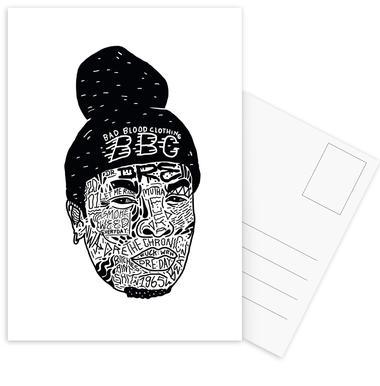 Dre -Postkartenset