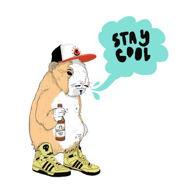 Stay Cool -Leinwandbild