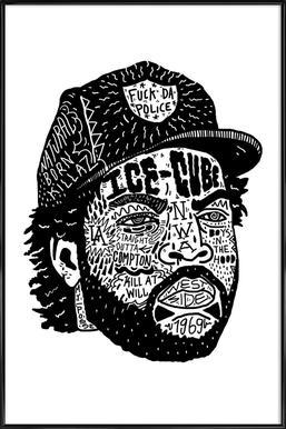 Ice Cube Framed Poster