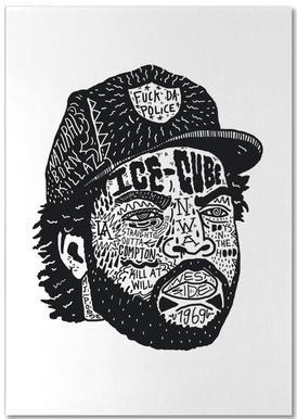 Ice Cube -Notizblock