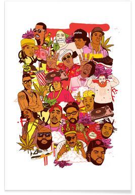 Rap Legends Poster