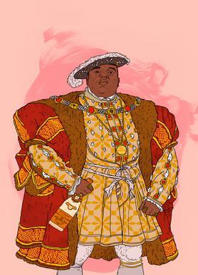 Rap Royalty 001 canvas doek