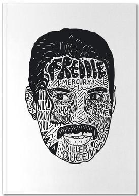 Freddie notitieboekje