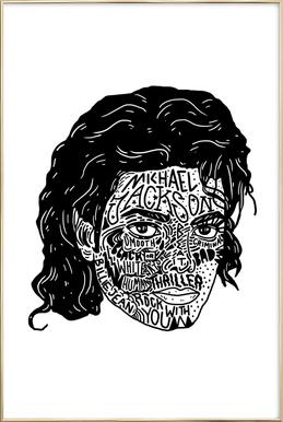 Mikey Poster in Aluminium Frame