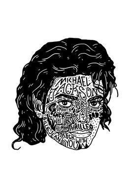 Mikey acrylglas print