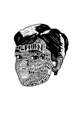Audrey Aluminium Print