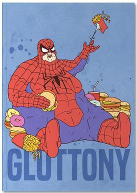 Gluttony notitieboekje
