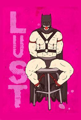 Lust Aluminium Print