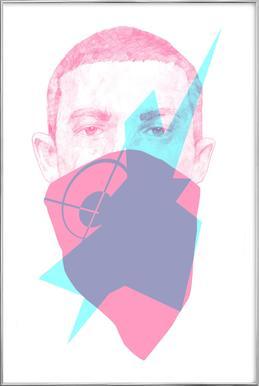007 poster in aluminium lijst