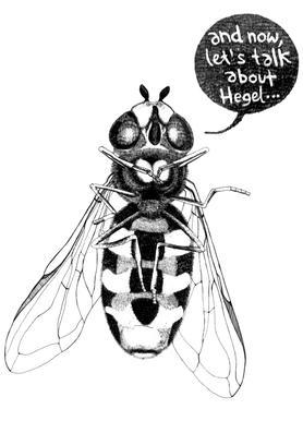 Annoying Bee Canvas Print