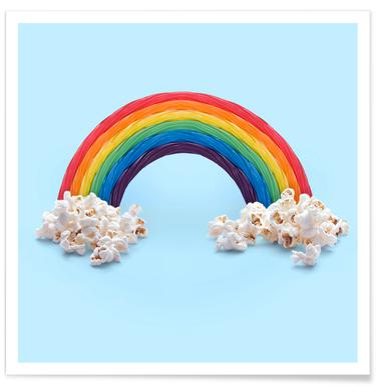 Candy Rainbow - Premium Poster