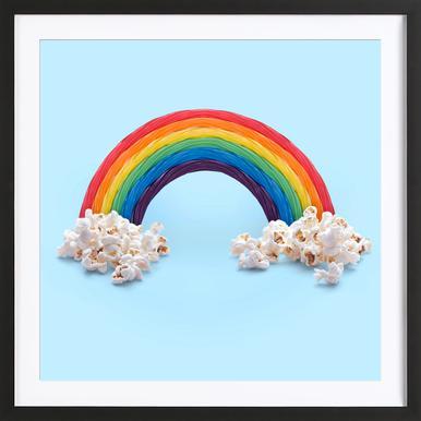 Candy Rainbow Framed Print