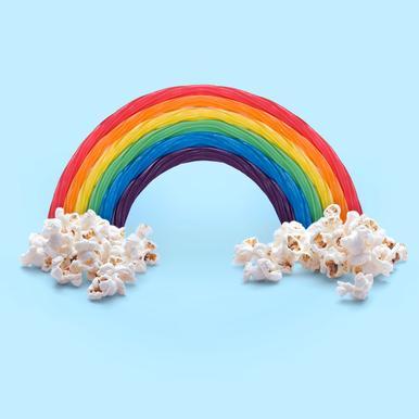 Candy Rainbow alu dibond