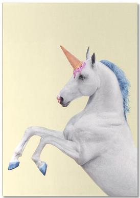 Ice Cream Unicorn -Notizblock