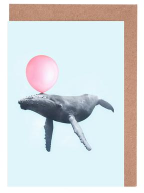 Bubblegum Whale Greeting Card Set