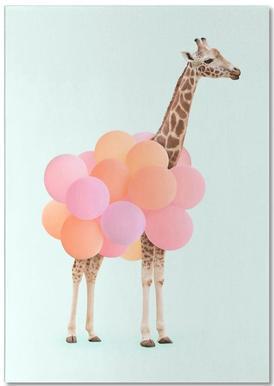 Party Giraffe Notepad