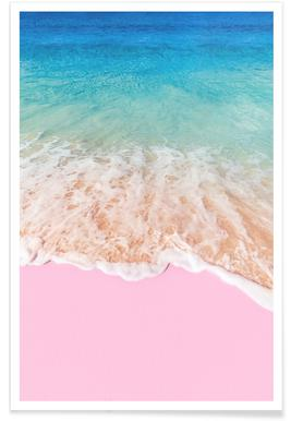 Pink Sand - Premium Poster