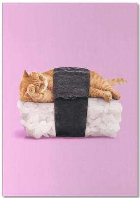 Sushi Cat -Notizblock