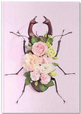 Floral Beetle Notebook