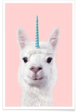 Alpaca Unicorn -Poster