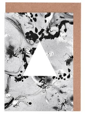 Triangle Greeting Card Set