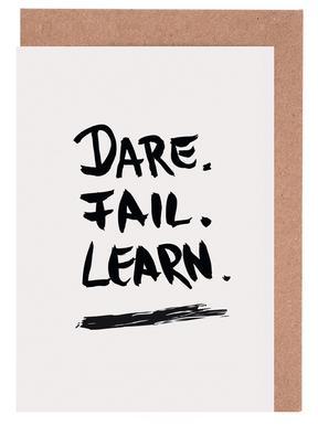 Dare. Fail. Learn.