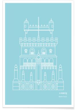 Belem Tower Poster