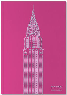 New York Pink Notebook
