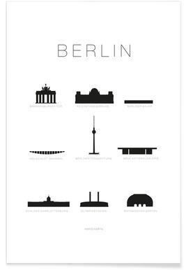 Berlin - Premium Poster