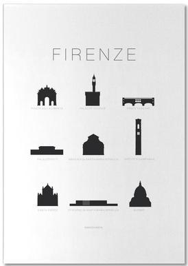 Firenze -Notizblock