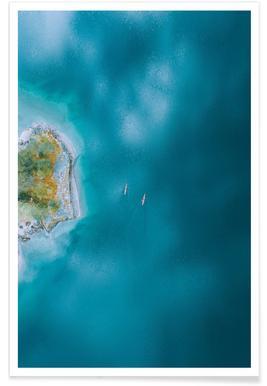 Kayaking - Premium poster