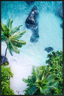 Tropical 1 ingelijste poster